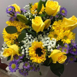 Half Dozen Yellow Bouquet
